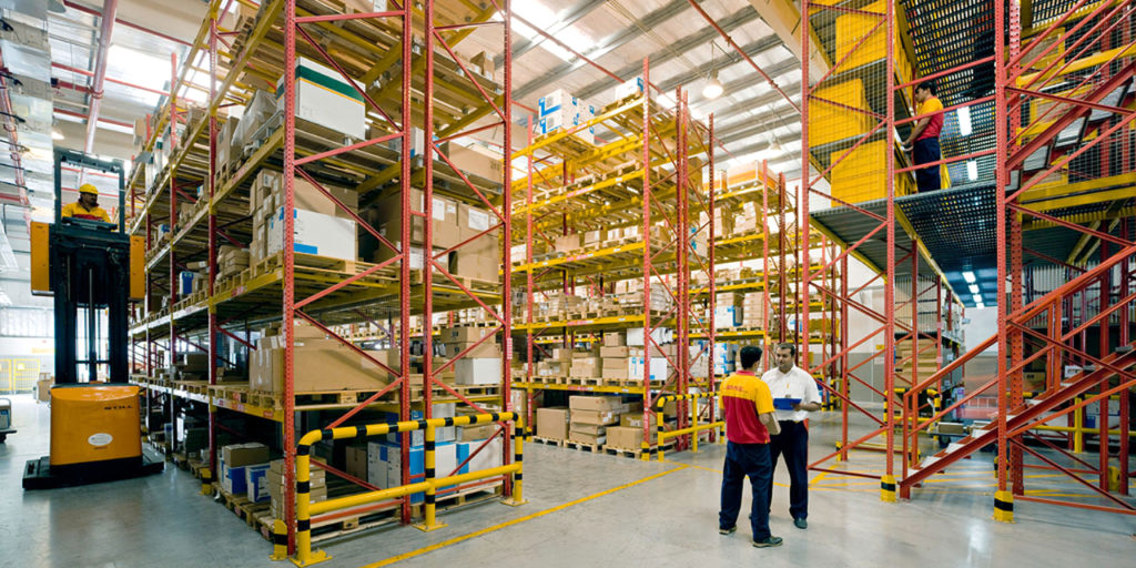 DHL Supply Chain warehouse operation