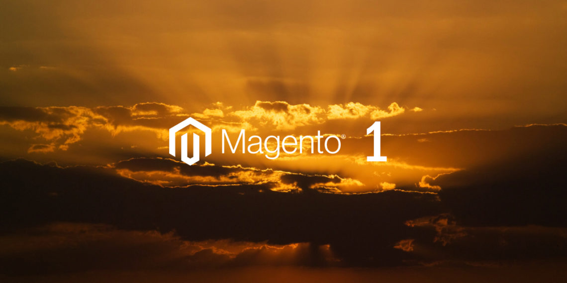 Magento 1 support ends on June 30, 2020