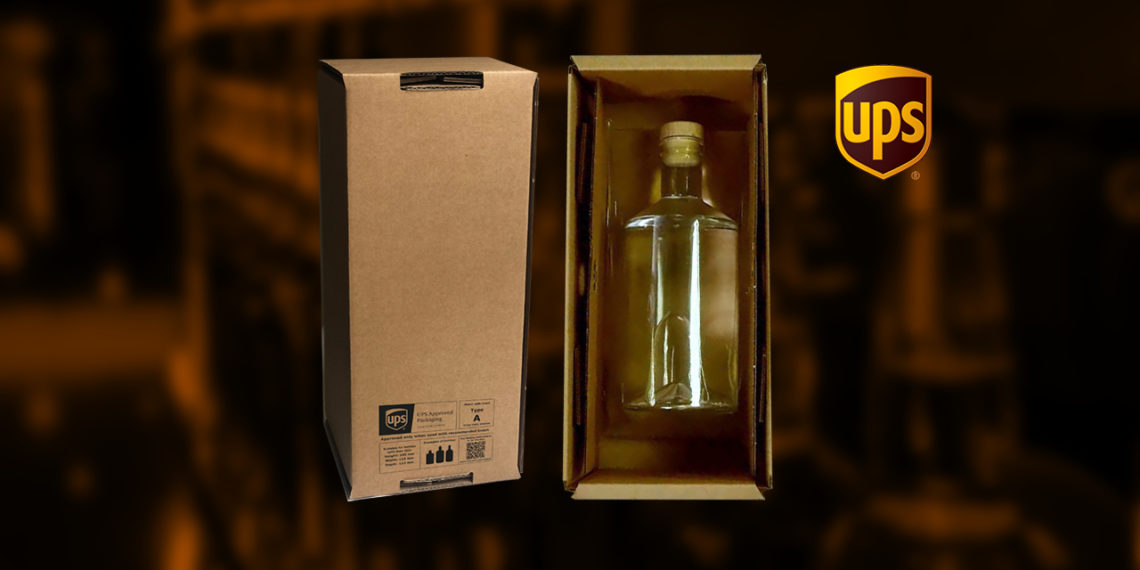 UPA approved packaging for alcohol