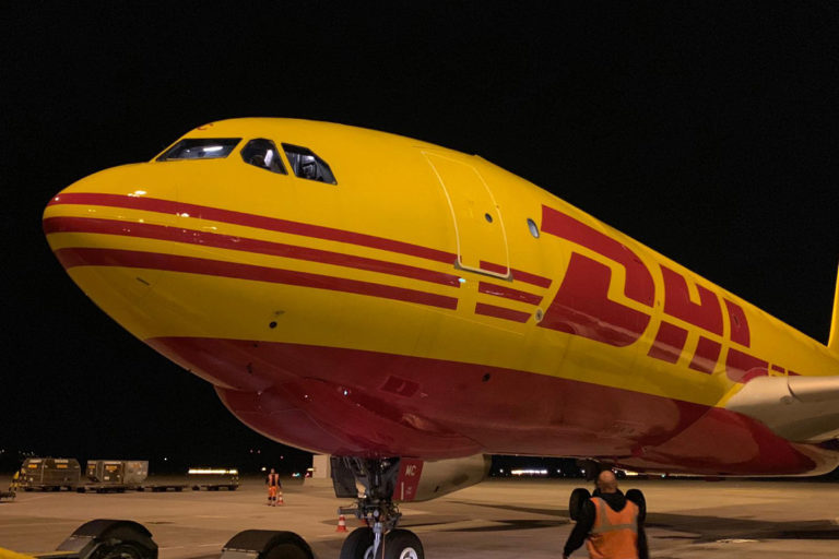 DHL Conducting A Demonstration 'Perfect Flight' From Europe To USA