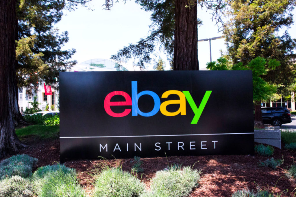eBay Main Street Sign