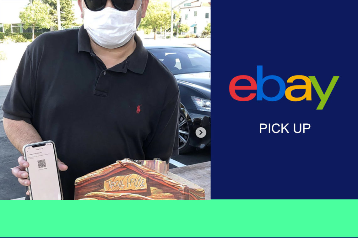 eBay pick up feature
