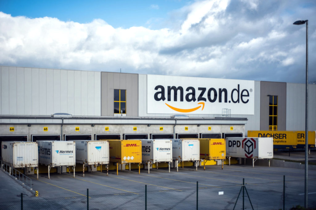 Distribution center of Amazon in Germany