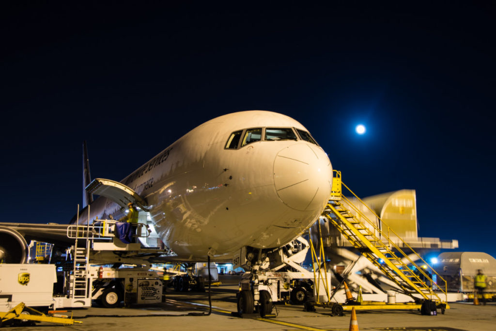 UPS Boeing 767 Parked