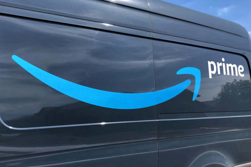 Amazon Delivery Van