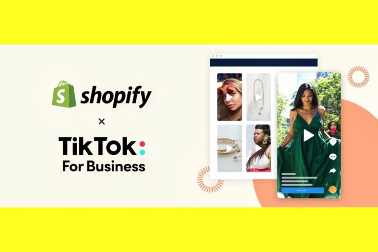 Shopify Brings eCommerce to TikTok