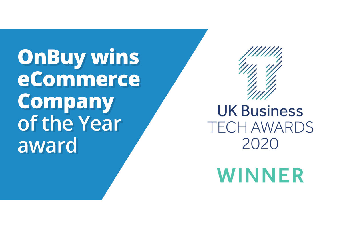 OnBuy Wins UK Business Tech Award 2020