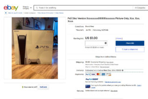eBay Full Of Deceptive Sony PS5 Listings Despite Warning To Sellers