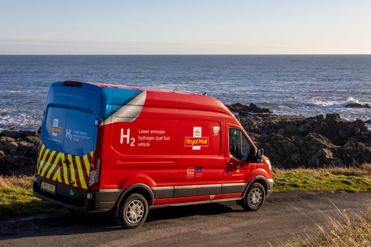 Royal Mail Hydrogen Powered Van