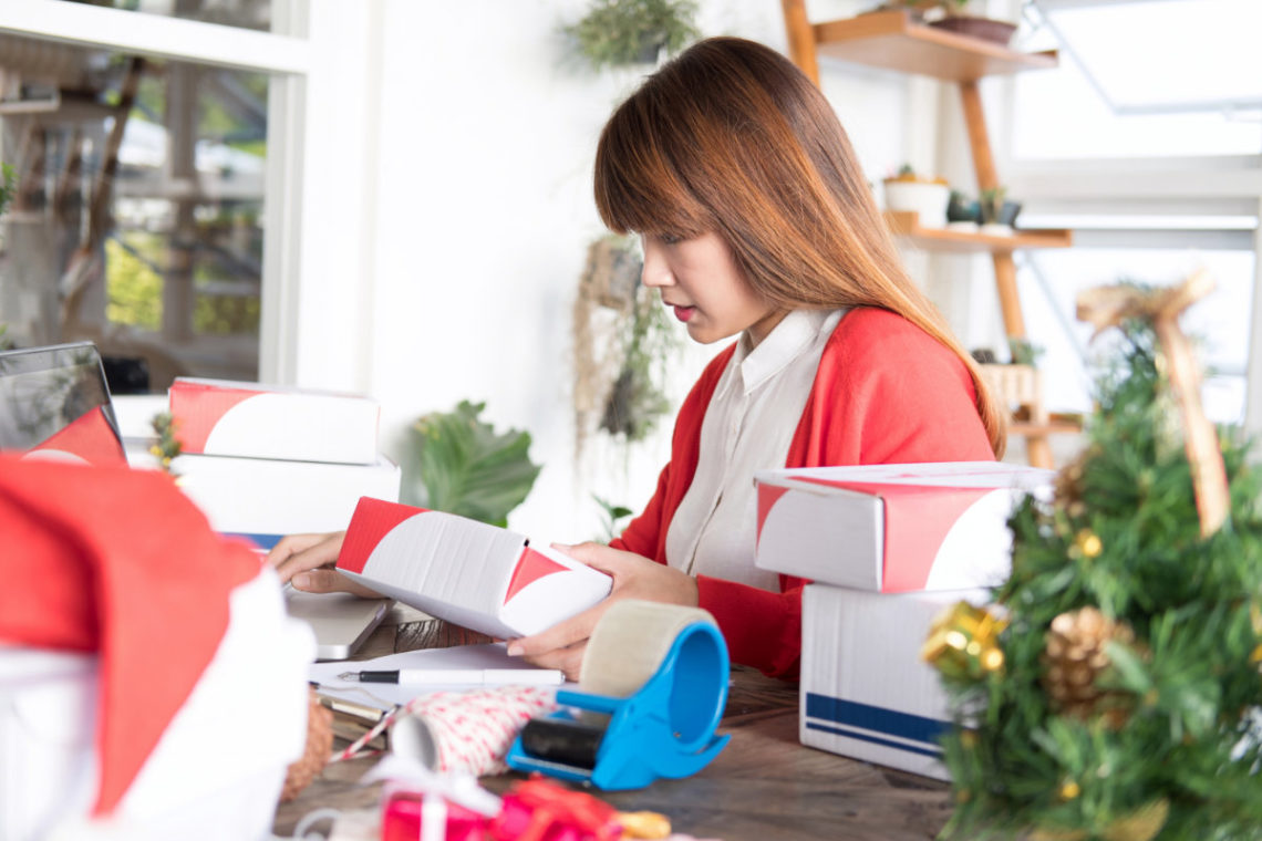 Shipping Woman Business Owner