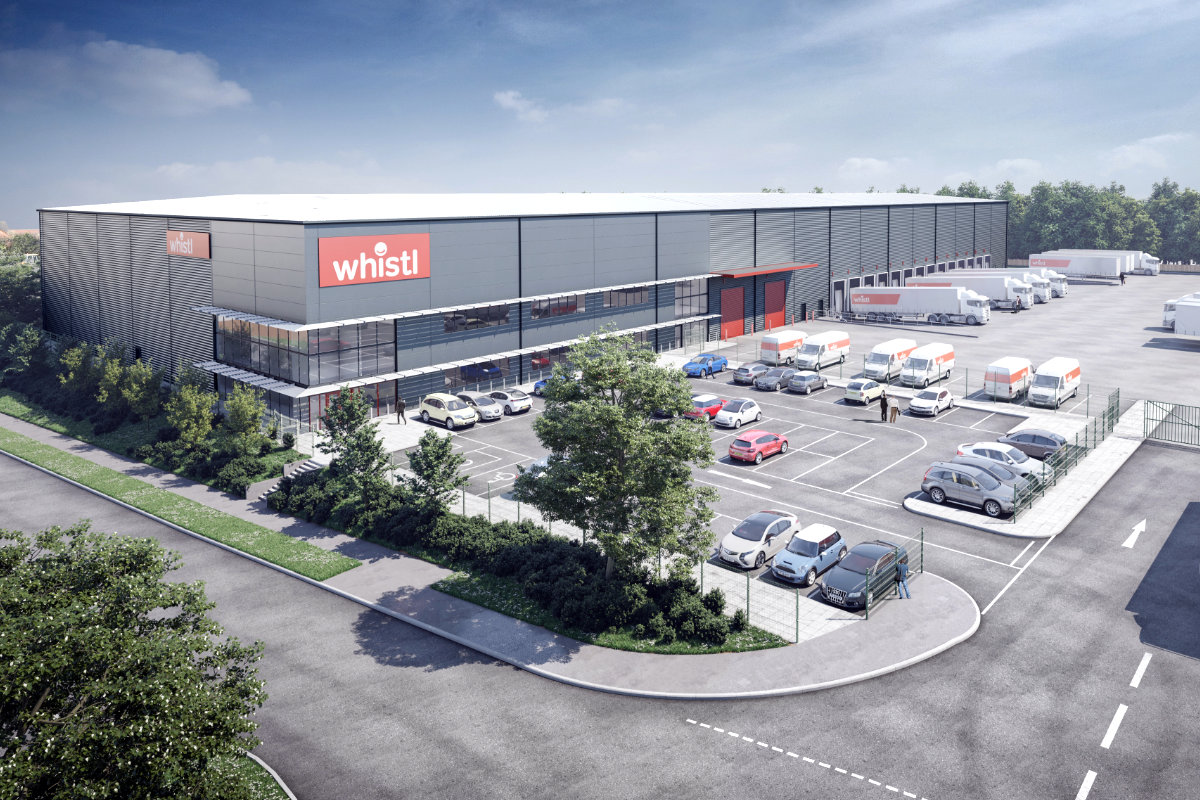 whistl bristol new depot.
