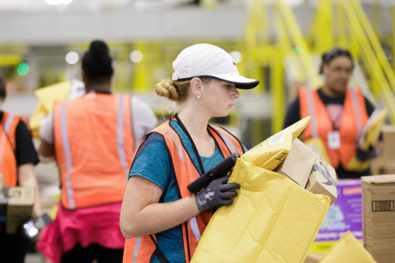 Amazon plans to open a new one million square foot fulfillment center in North Little Rock Arkansas