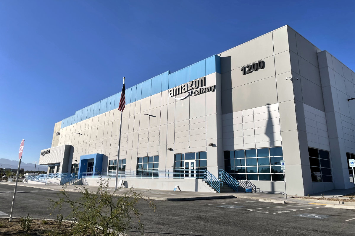Amazon North Las Vegas Delivery Station opened in September 2020