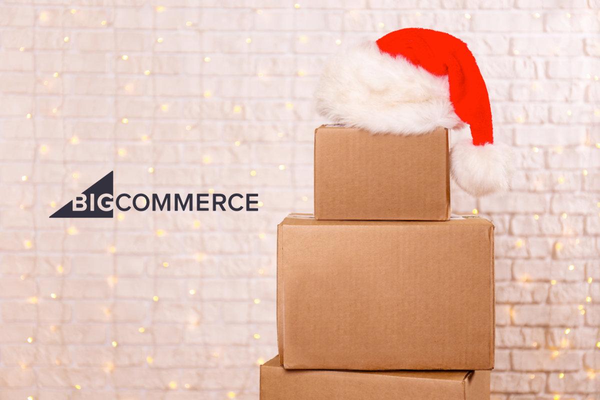 BigCommerce holiday season shipping boxes