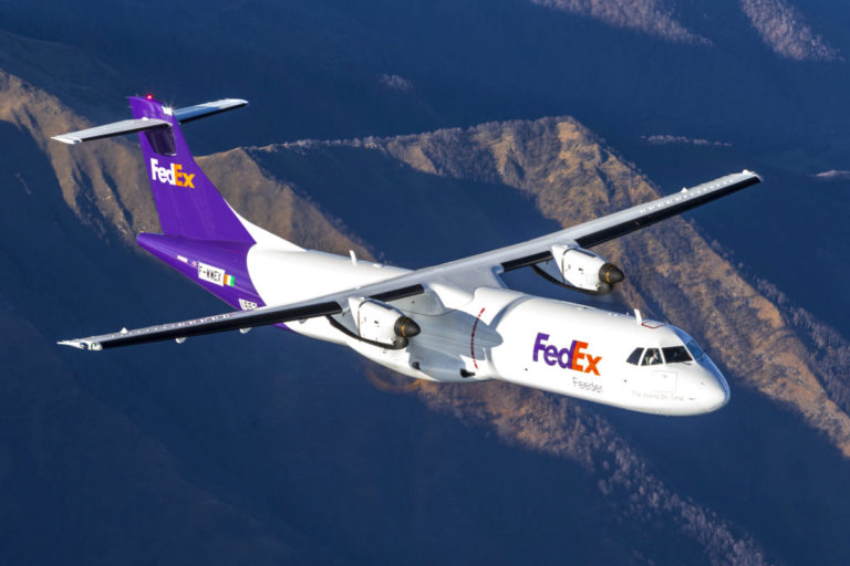 FedEx takes delivery of first ATR 72-600F feeder aircraft