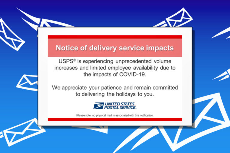 USPS Informed Delivery emails now contain 'delivery service impact' notice as millions of packages are delayed every day