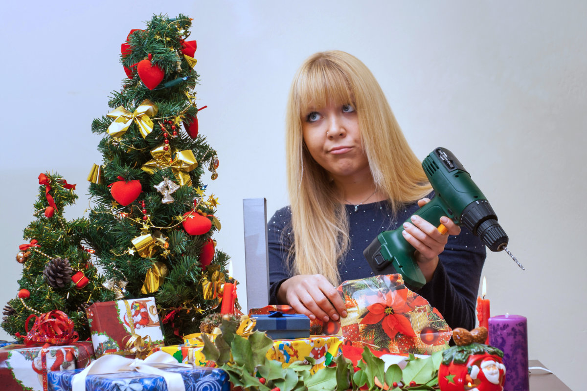 Woman received bad Christmas gift