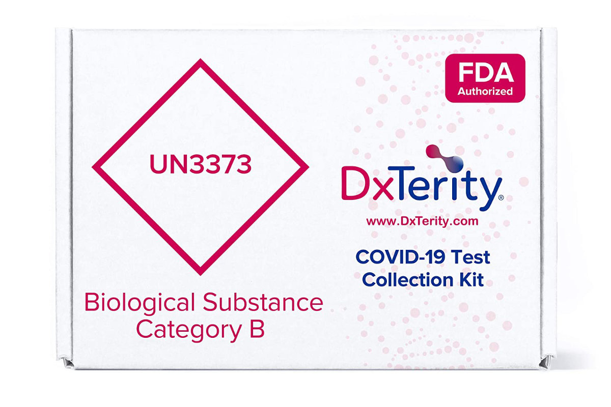 DxTerity COVID Test on Amazon