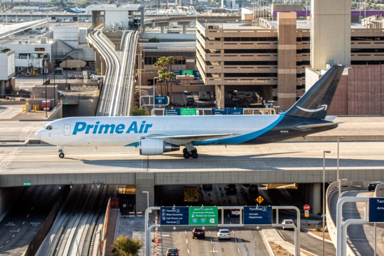 Amazon Air Expands Fleet With Purchase of 11 Boeing 767 Aircraft