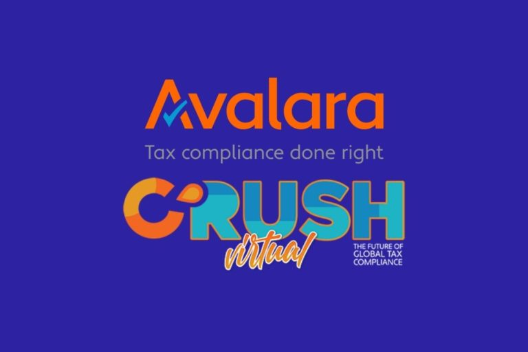 Avalara CRUSH 2021 – The Virtual Global Tax Compliance Event