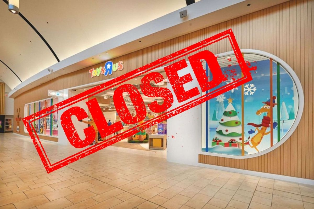 Toys 'R' Us Closed