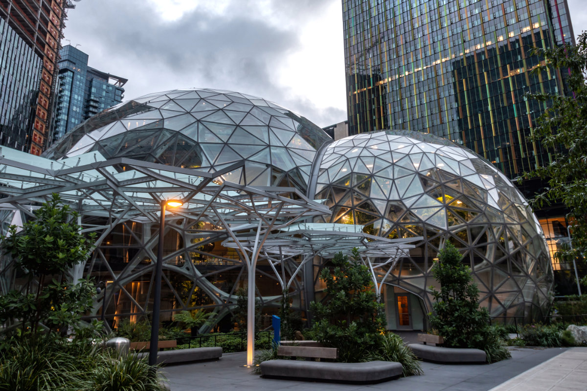 Amazon HQ Seattle Spheres