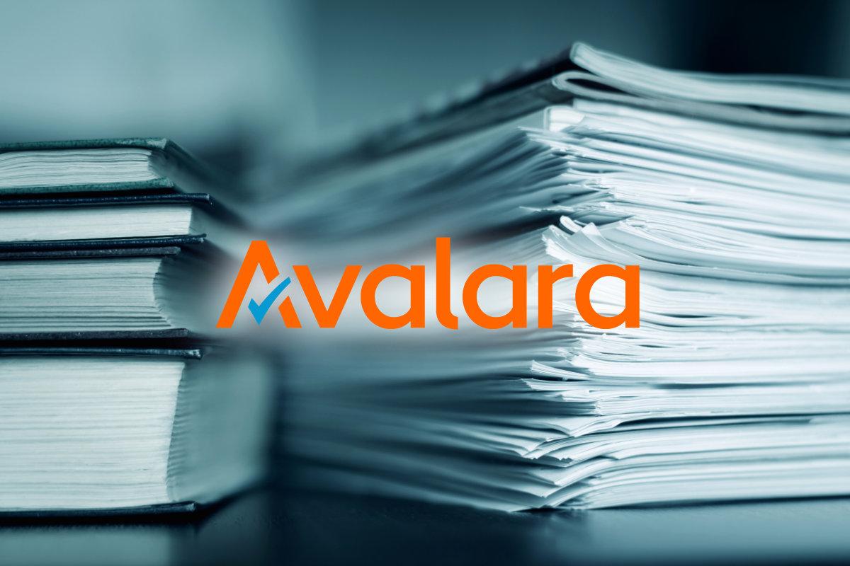 Avalara tax documents