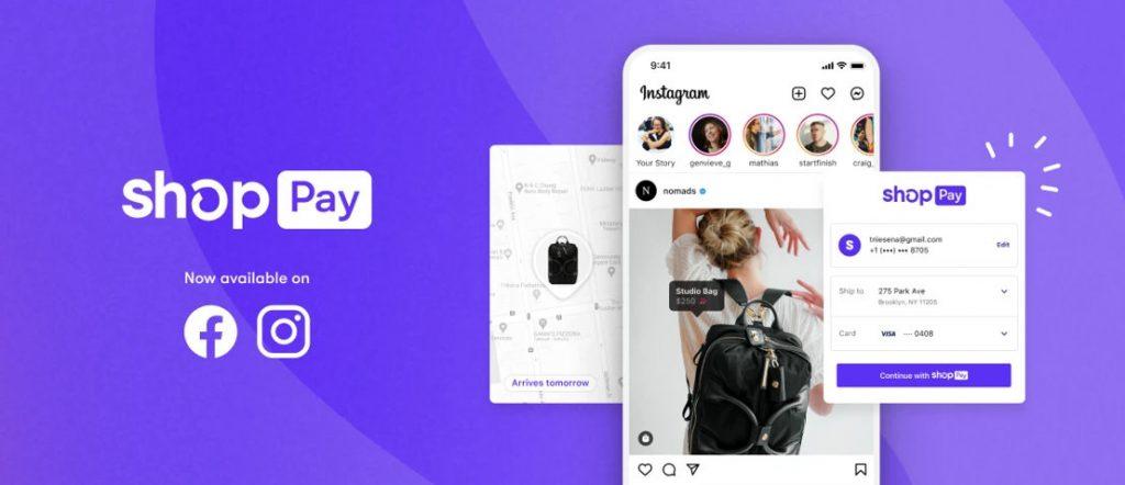 Shopify Shop Pay Facebook Instagram