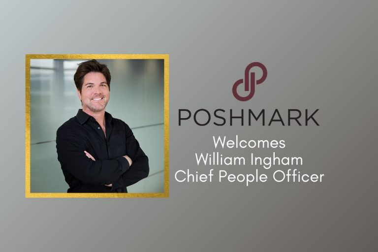 Poshmark Appoints William Ingham as First Chief People Officer