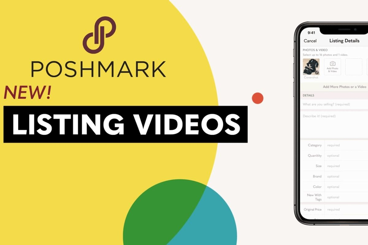 Poshmark video listing update