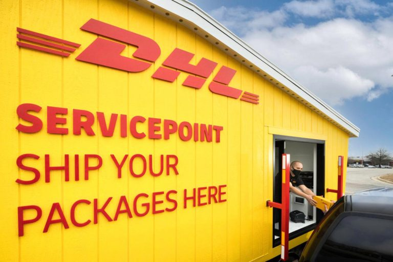 DHL Express Opens First Drive-Through Pop-Up Store in The U.S.