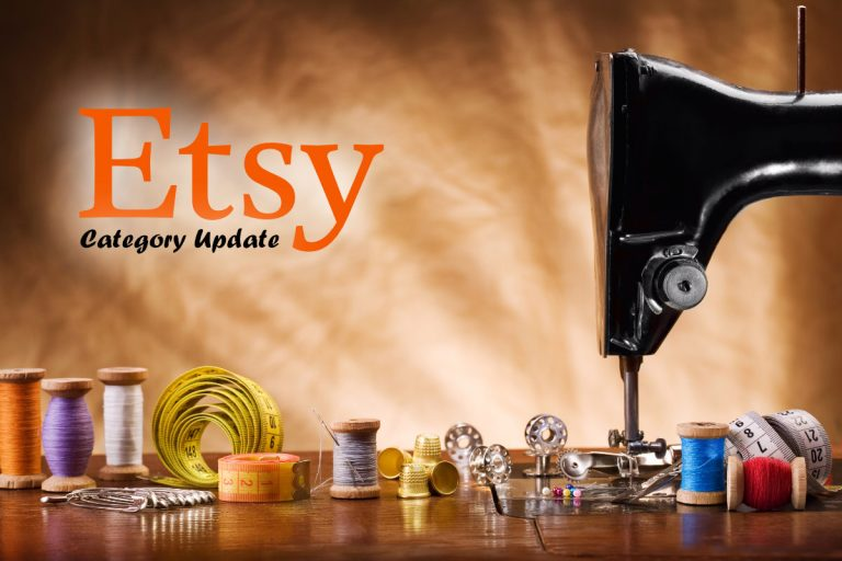 Etsy Releases March 2021 Categories and Item Attributes Update
