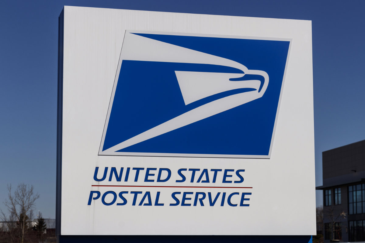 USPS Post Office sign