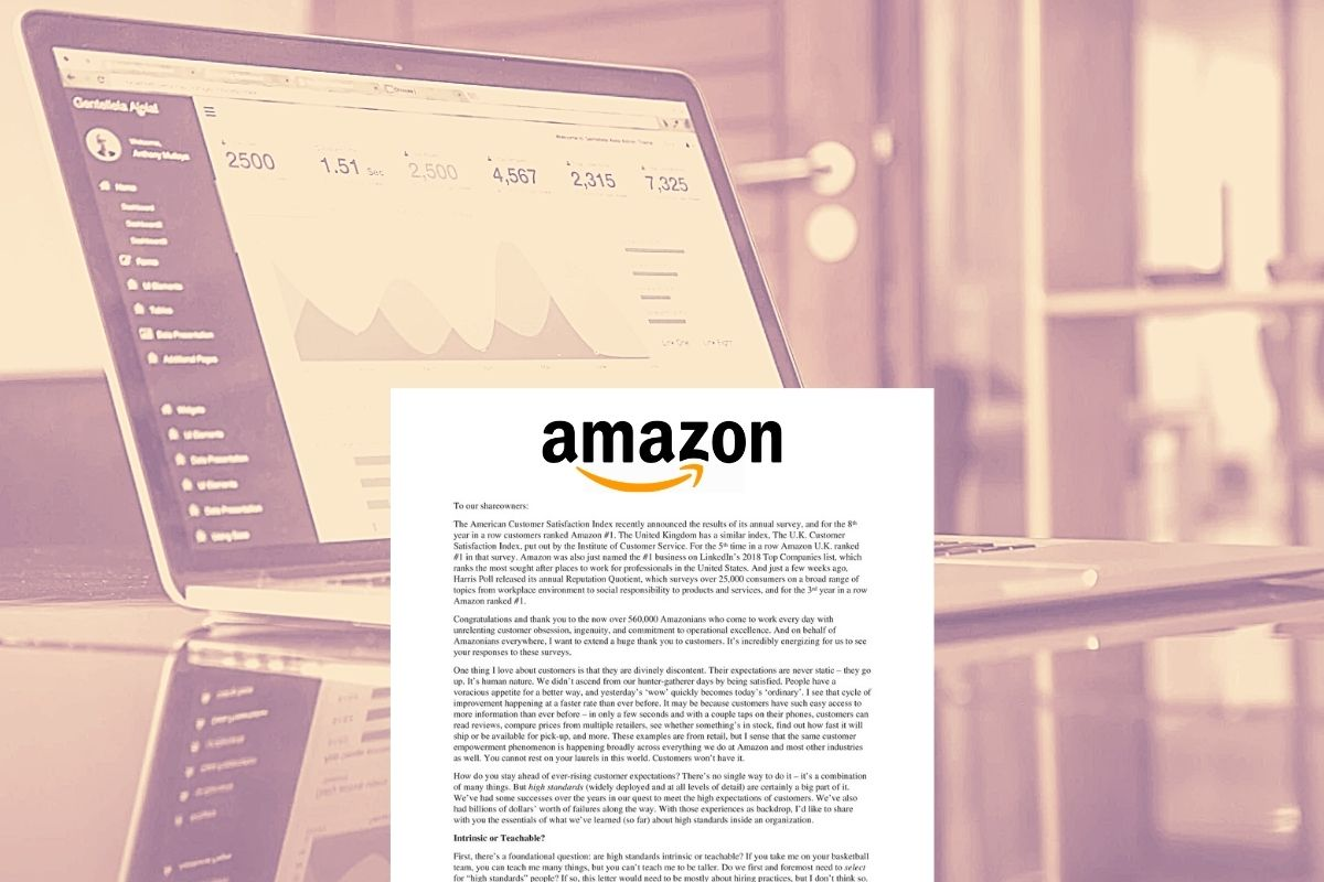Amazon Shareholder Letter - The Numbers
