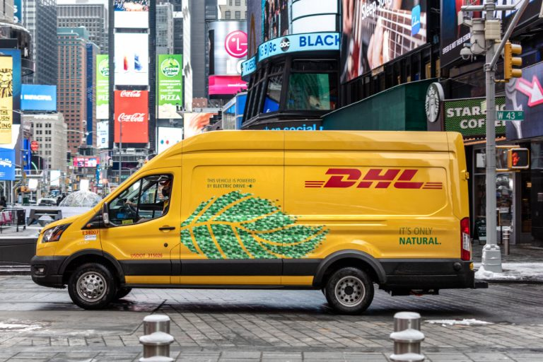 DHL Express Adds Nearly 100 New Electric Delivery Vans in The U.S.