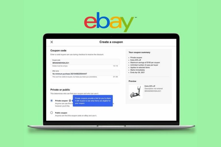 eBay's New Coded Coupons Tool Now Live For US & UK Sellers