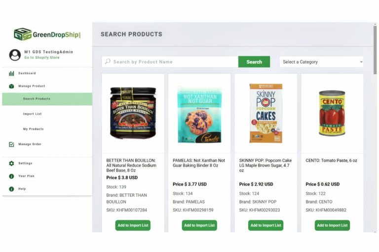 Sell Natural and Organic Groceries on Shopify With New App by GreenDropShip