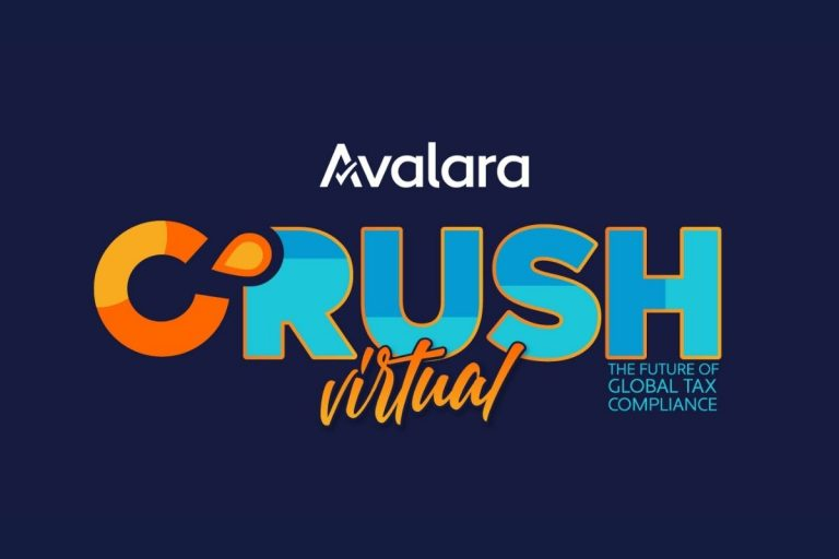 Event: Global Tax Compliance For Your eCommerce Business With Avalara CRUSH Virtual