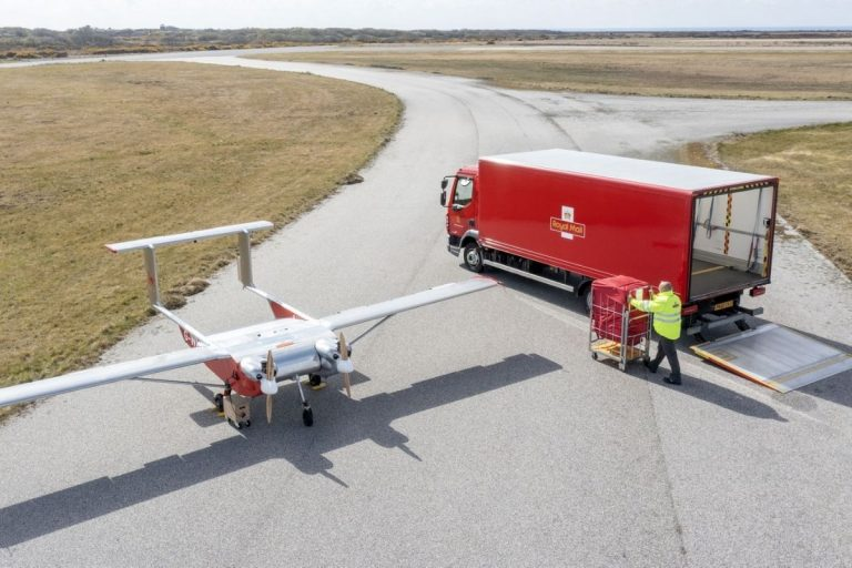 Royal Mail Achieves Parcel Drone Deliveries & Inter-Island Drone Deliveries of Test Kits