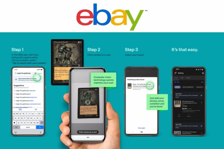 eBay Introduces Image Detection Feature For Collectible Card Sellers