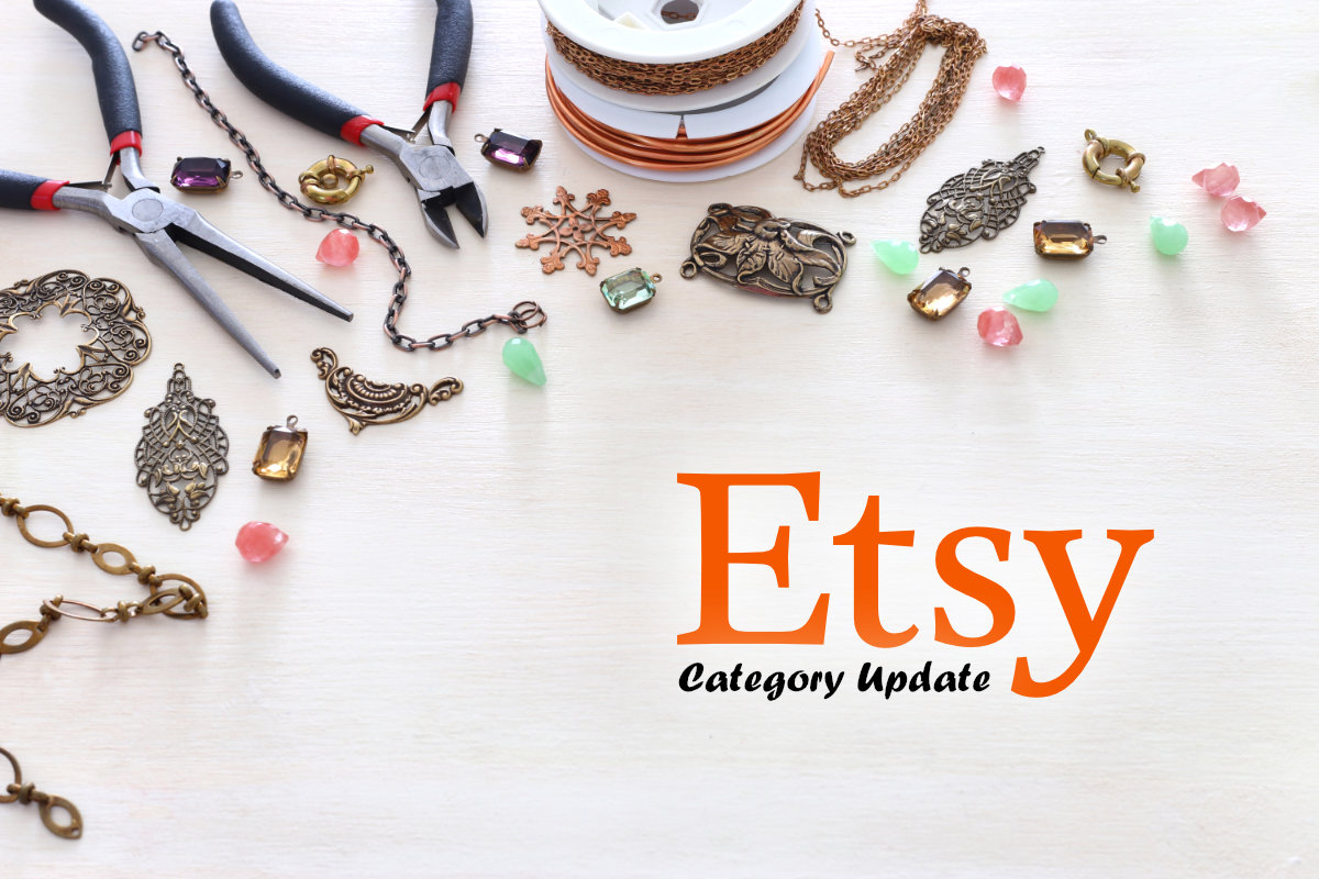 Etsy Category Update