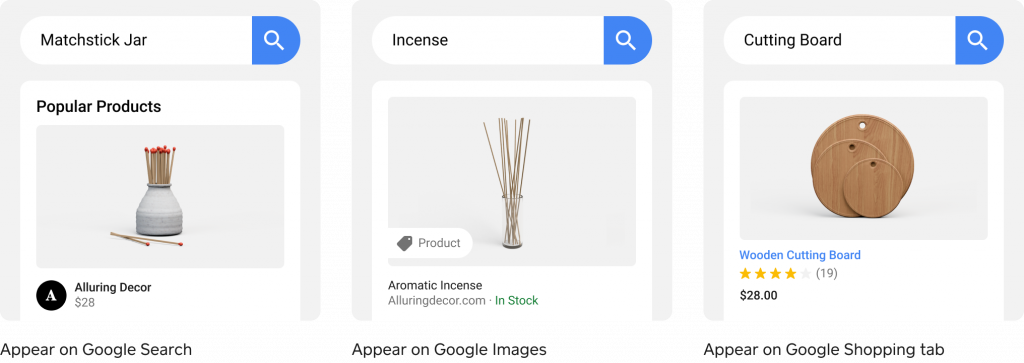 Google Shopping with Square