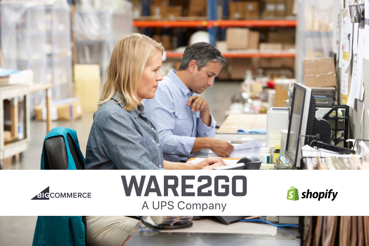 Warehouse staff Ware02Go NetworkVu Shopify BigCommerce