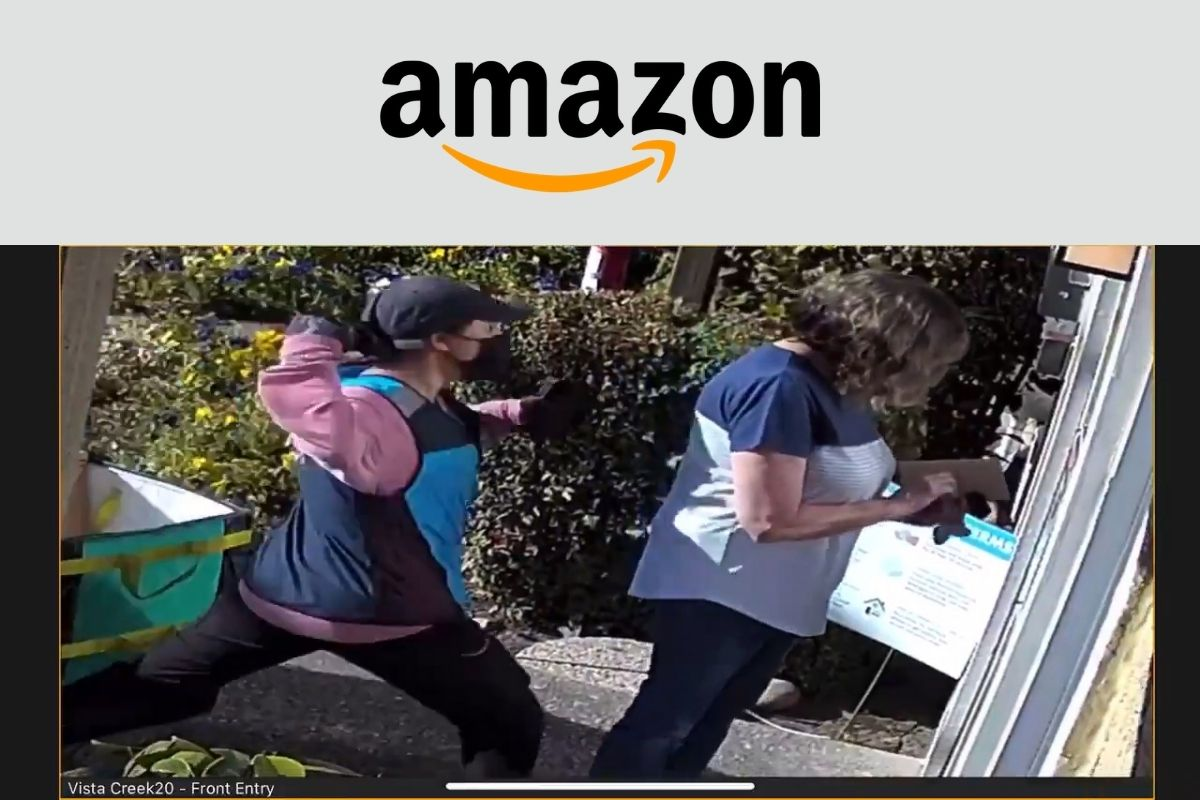 Amazon delivery driver assault