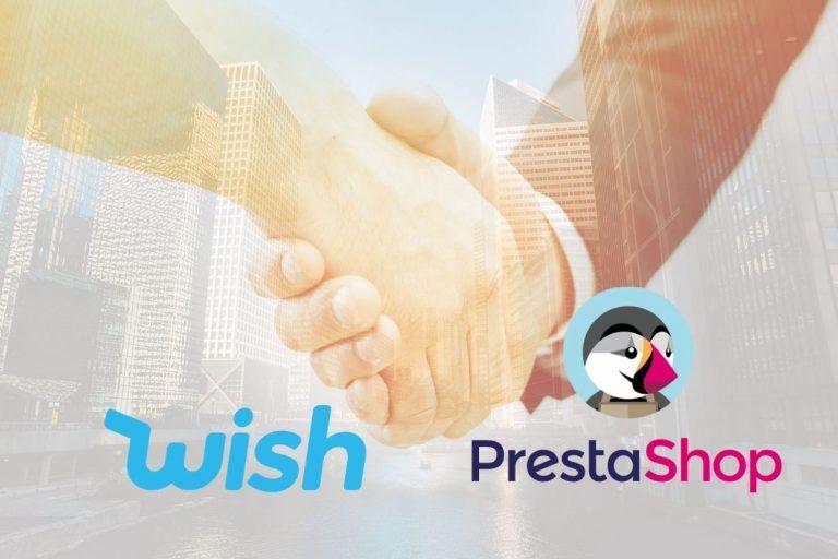 Wish Announces 2 Year Partnership With PrestaShop