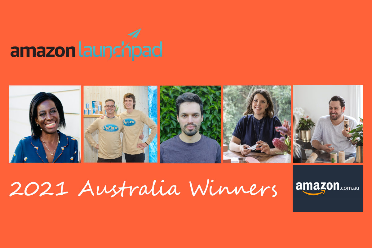 Amazon Australia Launchpad Winners 2021