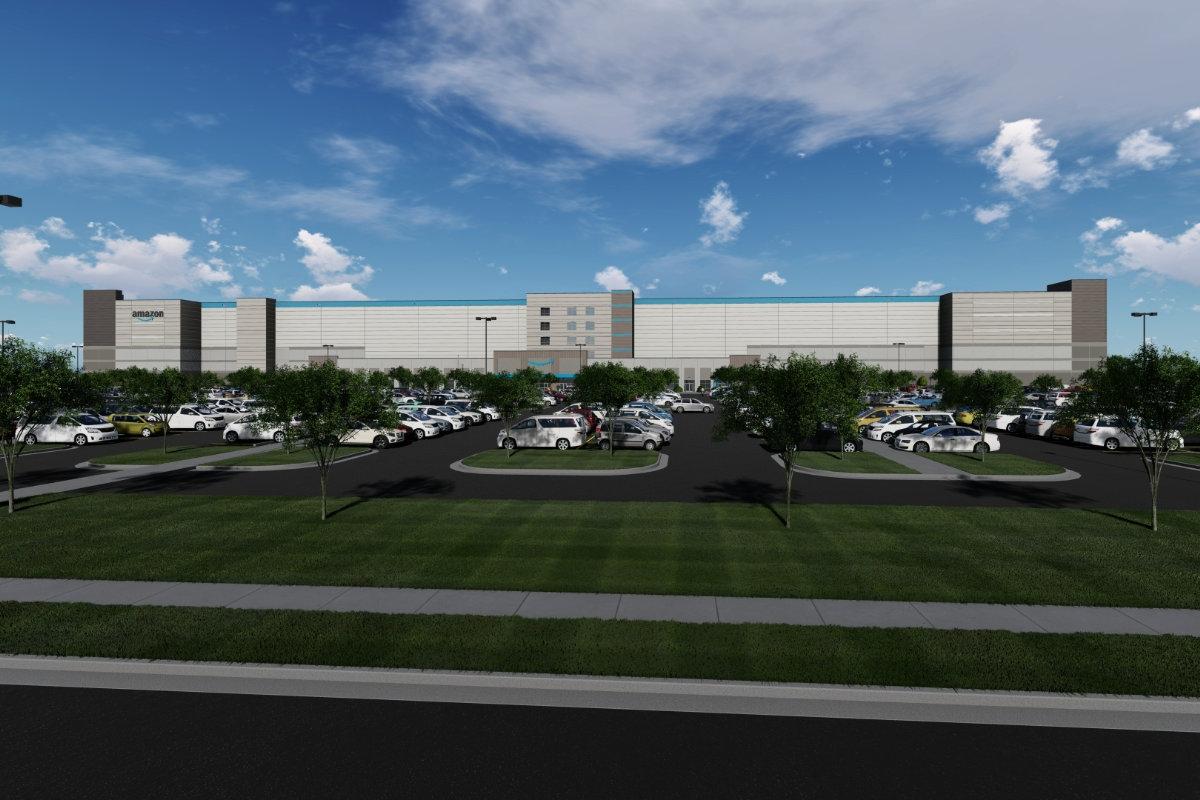 Amazon planned fulfillment center in Baton Rouge Louisiana