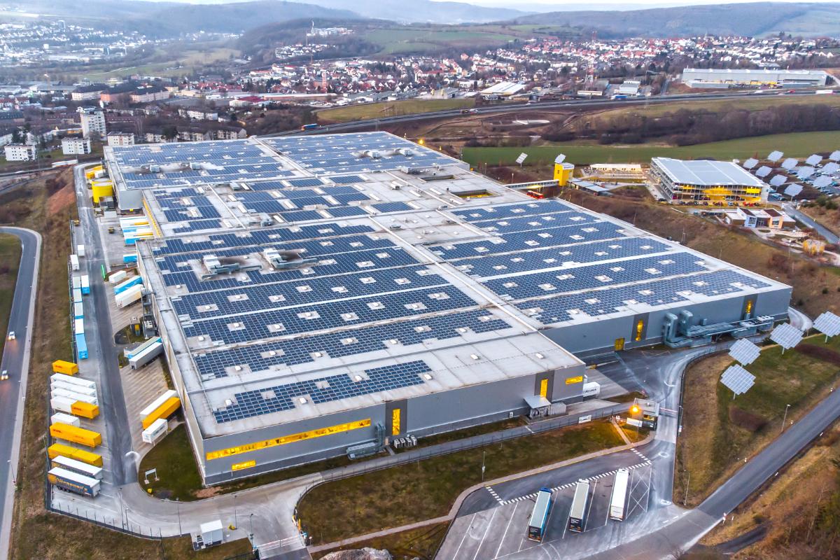 Amazon fulfillment center in Germany