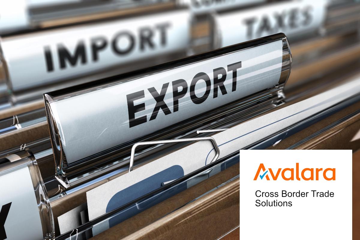 Avalara Cross Border Trade Solutions