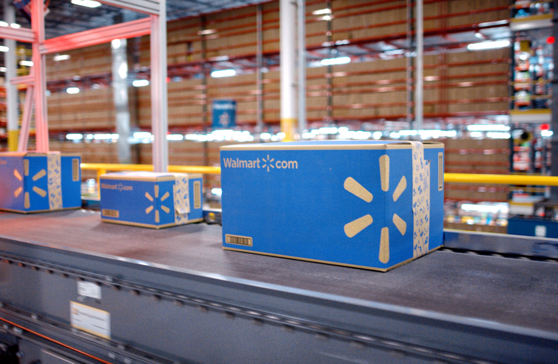Walmart fulfillment warehouse